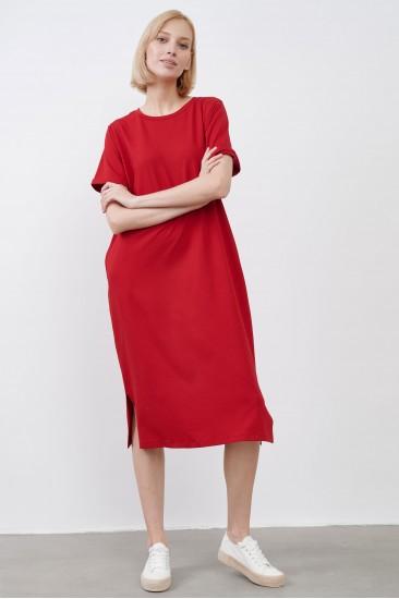 Платье JUL красное