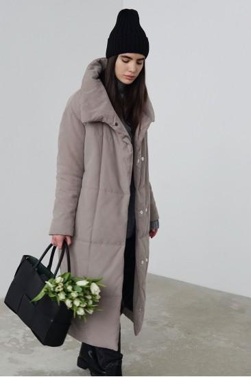 Пальто зимнее Nancy беж