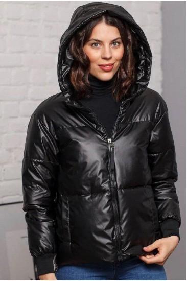 Куртка глянцевая Damgarder черная