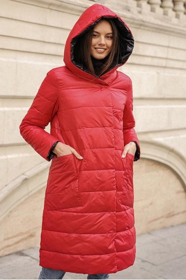 Двухсторонняя утепленная демисезонная куртка