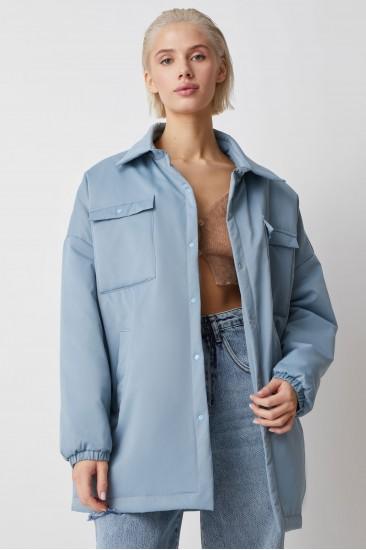 Куртка-рубашка Amanda, голубой