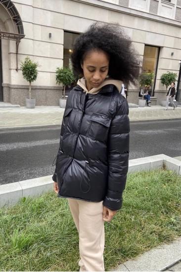 Куртка Damgarder на кулиске, черная