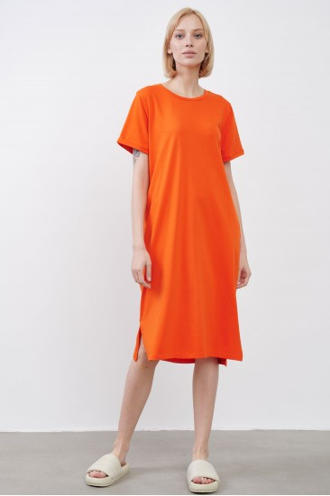 Платье JUL оранжевое