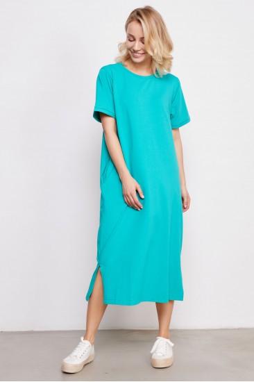 Платье JUL бирюзовое