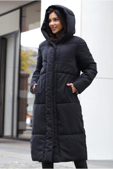 Пальто зимнее модель Лайна 20 черное