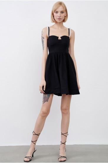 Платье Reina черное