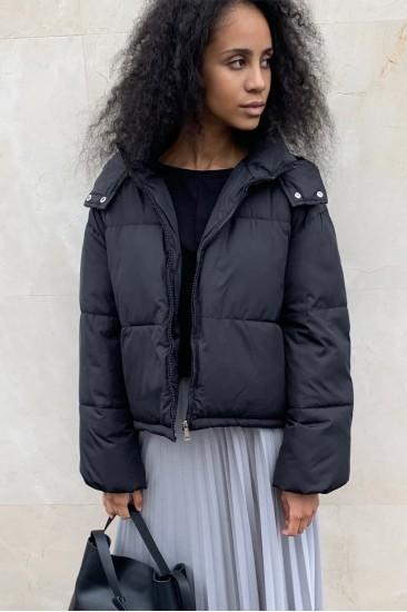 Куртка Dam25 на синтепоне, черная