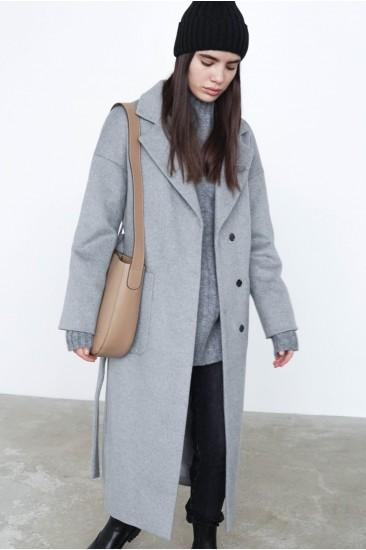 Пальто Patti серого цвета