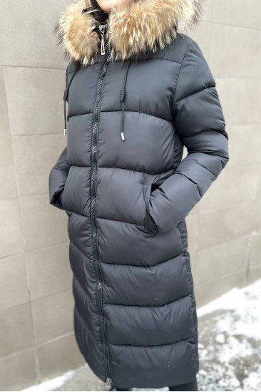 Куртка на синтепоне черная