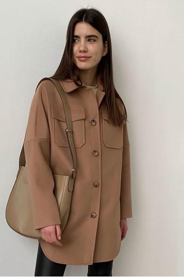 Пальто рубашка London цвет кемл