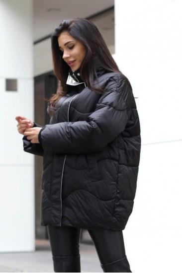 Куртка оверсайз черная
