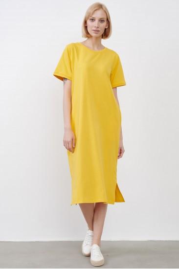 Платье JUL желтое