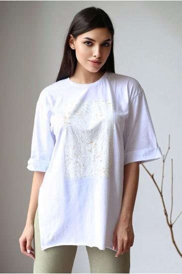 Базовая футболка Damgarder белая