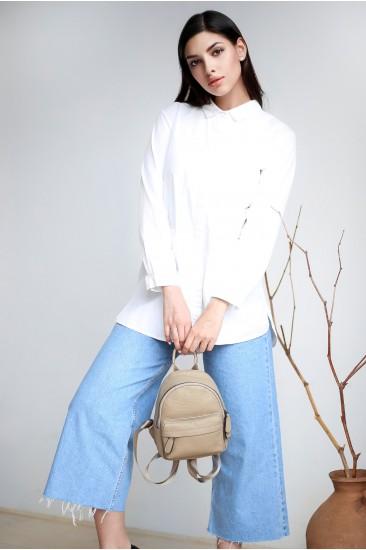 Мини рюкзак Mili бежевый