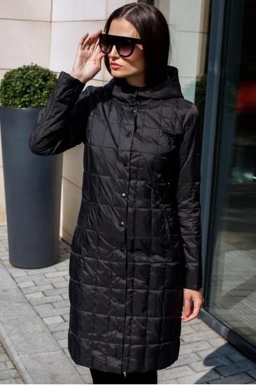 Осенне пальто Laplin, черного цвета