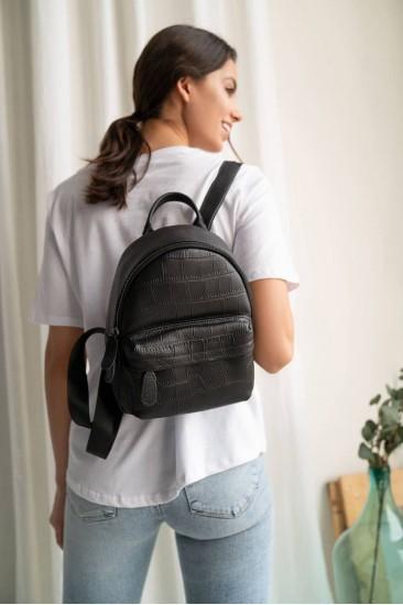 Мини рюкзак Mili черный