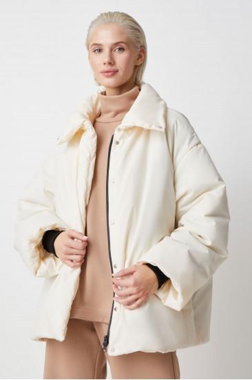 Куртка без прострочки без капюшона Sheryl, молочный