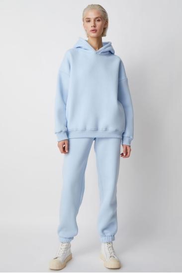 Хлопковый костюм Lina, голубой