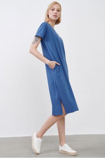 Платье JUL синее