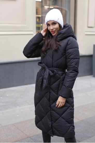 Пальто зимнее Damgarder черное 2020
