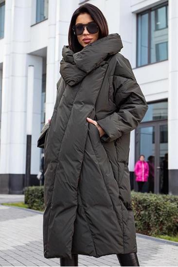 Пуховик одеяло Mork Anhanma 2020 изумруд