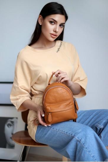 Ультра-мини рюкзак Mili карамель