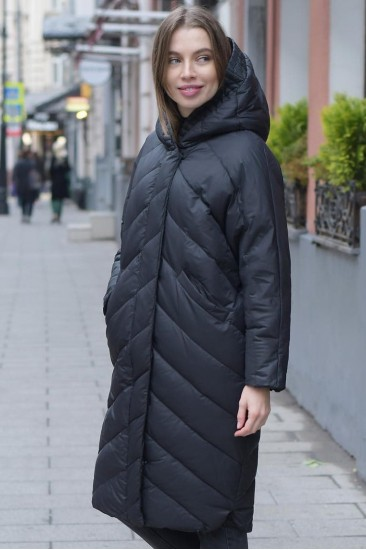 Пуховик-одеяло Ar черный