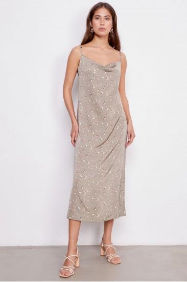 Платье Verginia, серо-бежевый