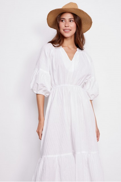 Платье белое Ornella