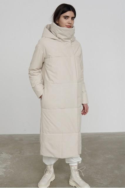 Пальто зимнее Nancy молочный
