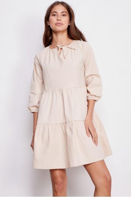 Платье бежевое Addi