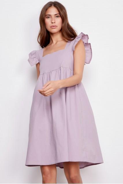 Платье лаванда Martine