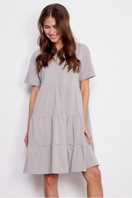 Платье серое Elma