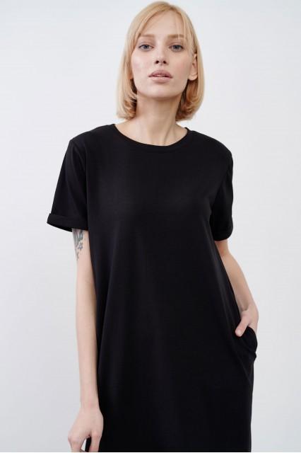 Платье черное JUL