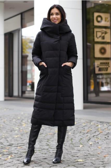 Пальто черный Шарли