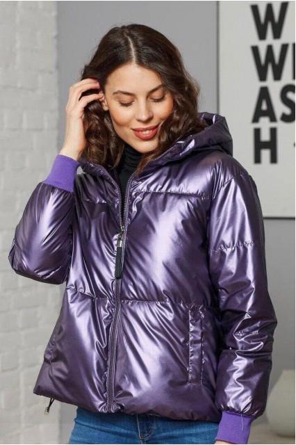 Damgarder Куртка глянцевая фиолетовая