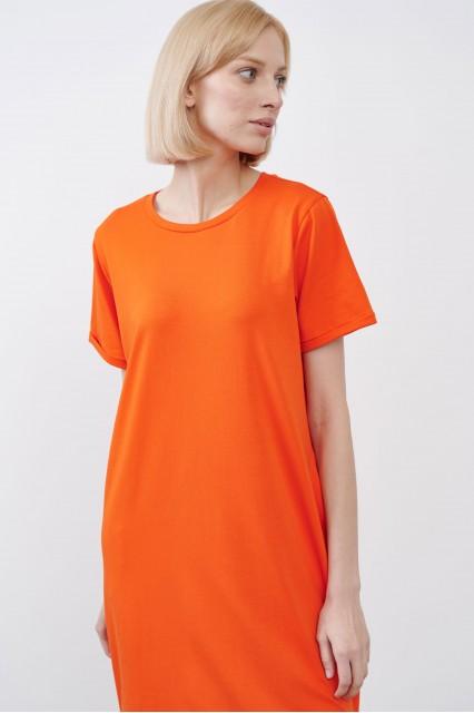 Платье оранжевое JUL