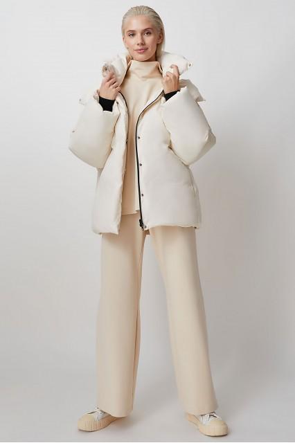 Куртка молочный без прострочки Sheryl