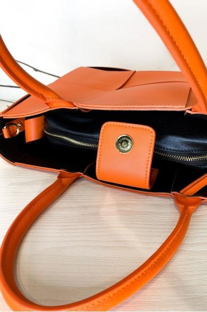Оранжевая сумка-тоут Aril