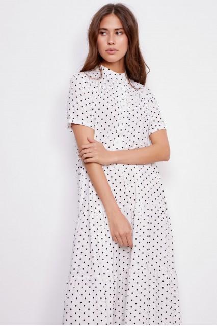 Платье белое Adriana