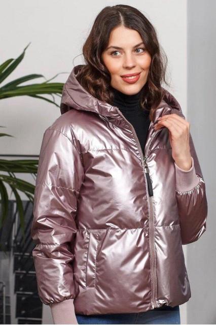 Damgarder Куртка глянцевая розовая