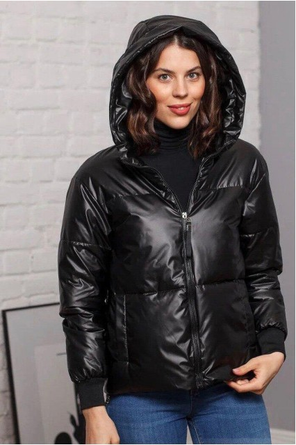 Damgarder Куртка глянцевая черная