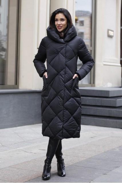 Damgarder Пальто зимнее черное 2020