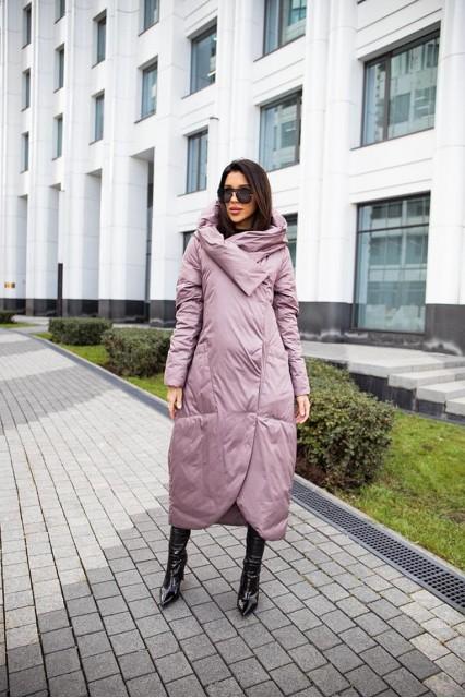 пальто Bilissimo Пуховое лаванда