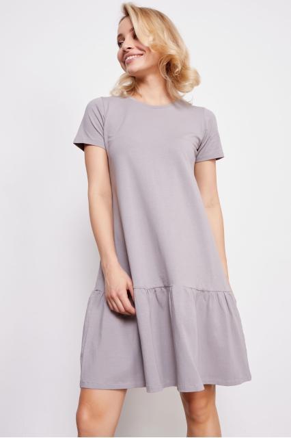 Платье серое Dalia