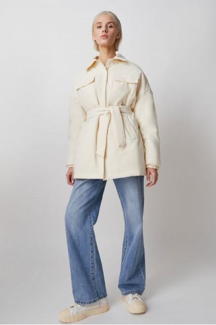 Amanda куртка-рубашка, молочный