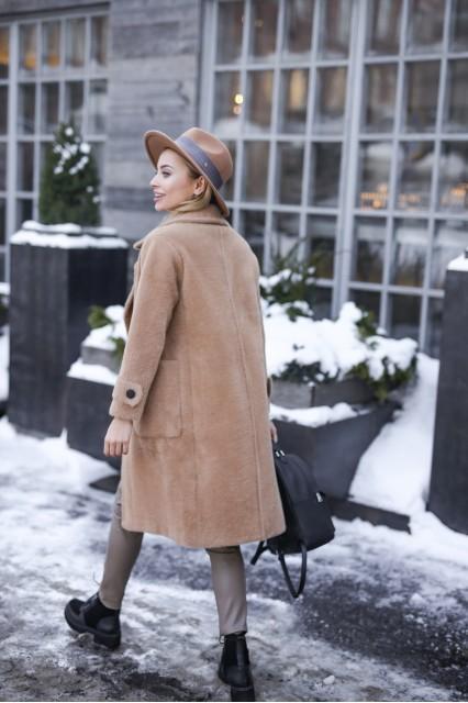 Пальто женское кемл
