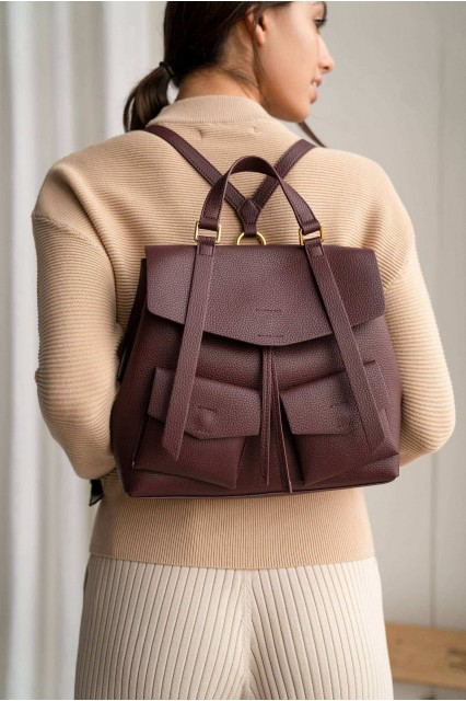 Roxy Рюкзак-сумка бордовый