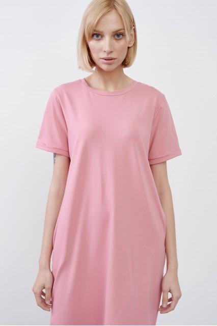 Платье розовое JUL