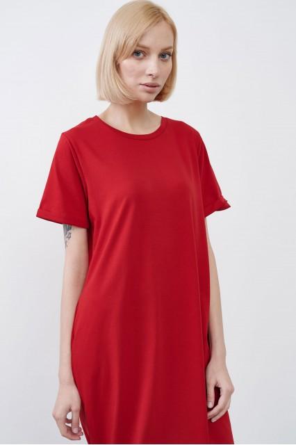 Платье красное JUL